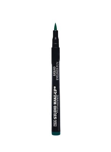 Tca Studio Make Up Lıquıd Eyelıner Pen 04 Green Yeşil
